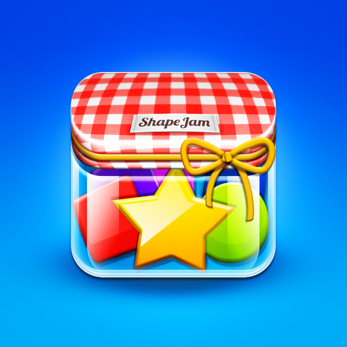 iOS App Icon for new multiplayer matching game