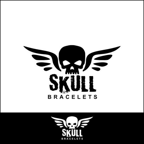 Logo for a bracelet company
