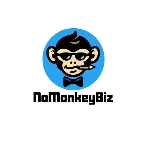 No Monkey Biz Logo