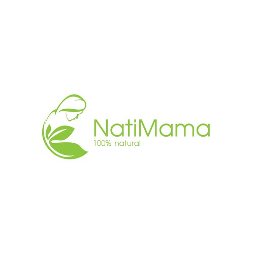 Create a logo for a 100% natural vitamin supplement