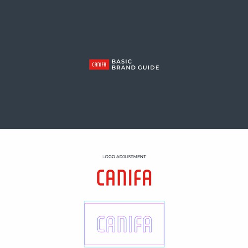 Canifa Brand Guide Elements
