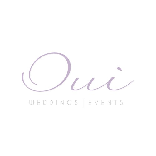 Highend logo needed for: OUI, Weddings | Events