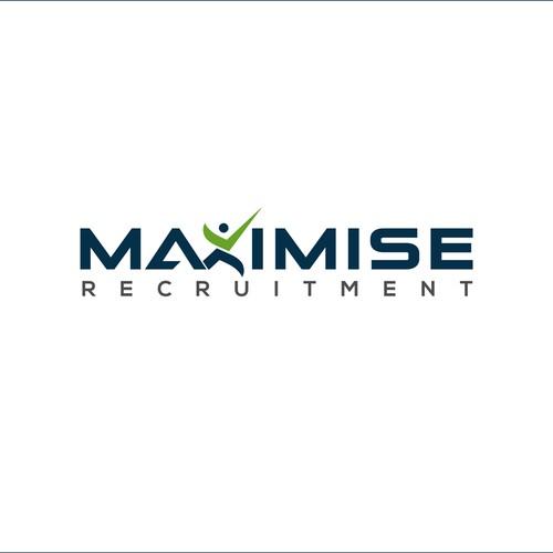 simple, stylish logo for recruitment company