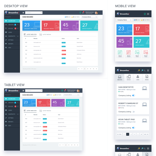 Mobile - Web App Design