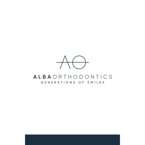 Logo Concept for Alba Orthodontics