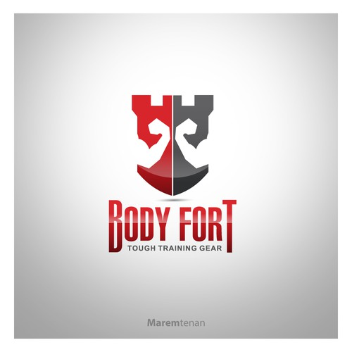 Create the next logo for Body Fort