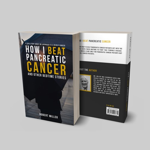 """Book cover for """"How I Beat Pancreatic Cancer"""""""