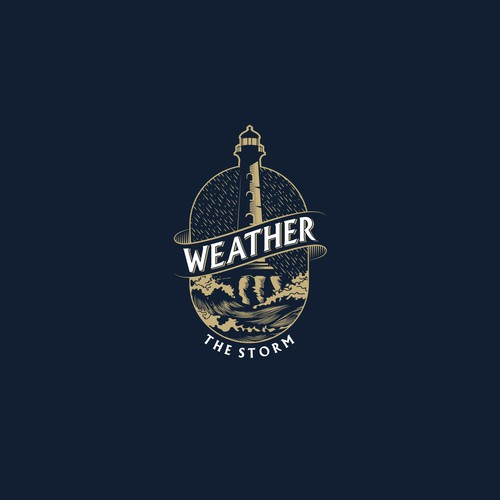 Bold logo concept for Weather the Storm