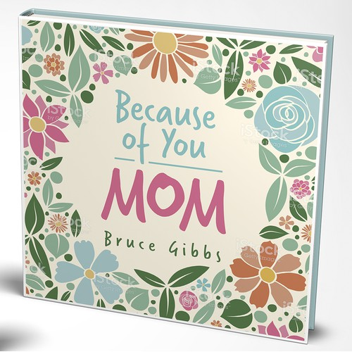 Book cover for book about MOM