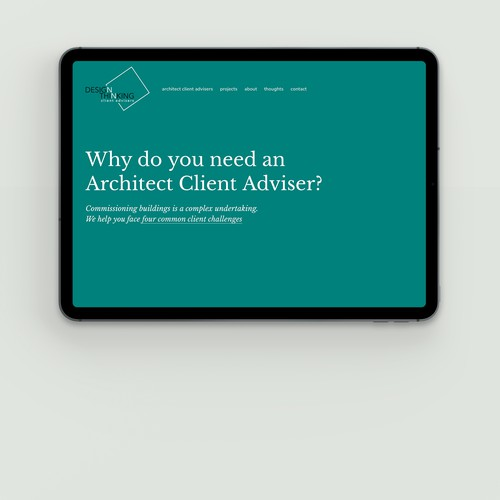 RIBA Architect Client Advisers. London, the UK