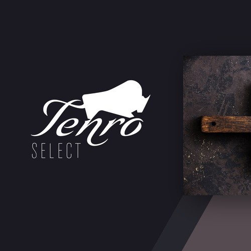 Logo for a select/gourmet meat farm