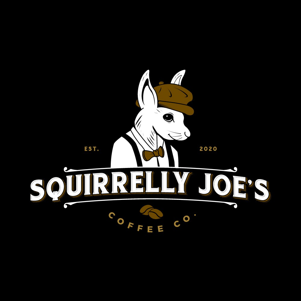 Hipster Coffee Squirrel