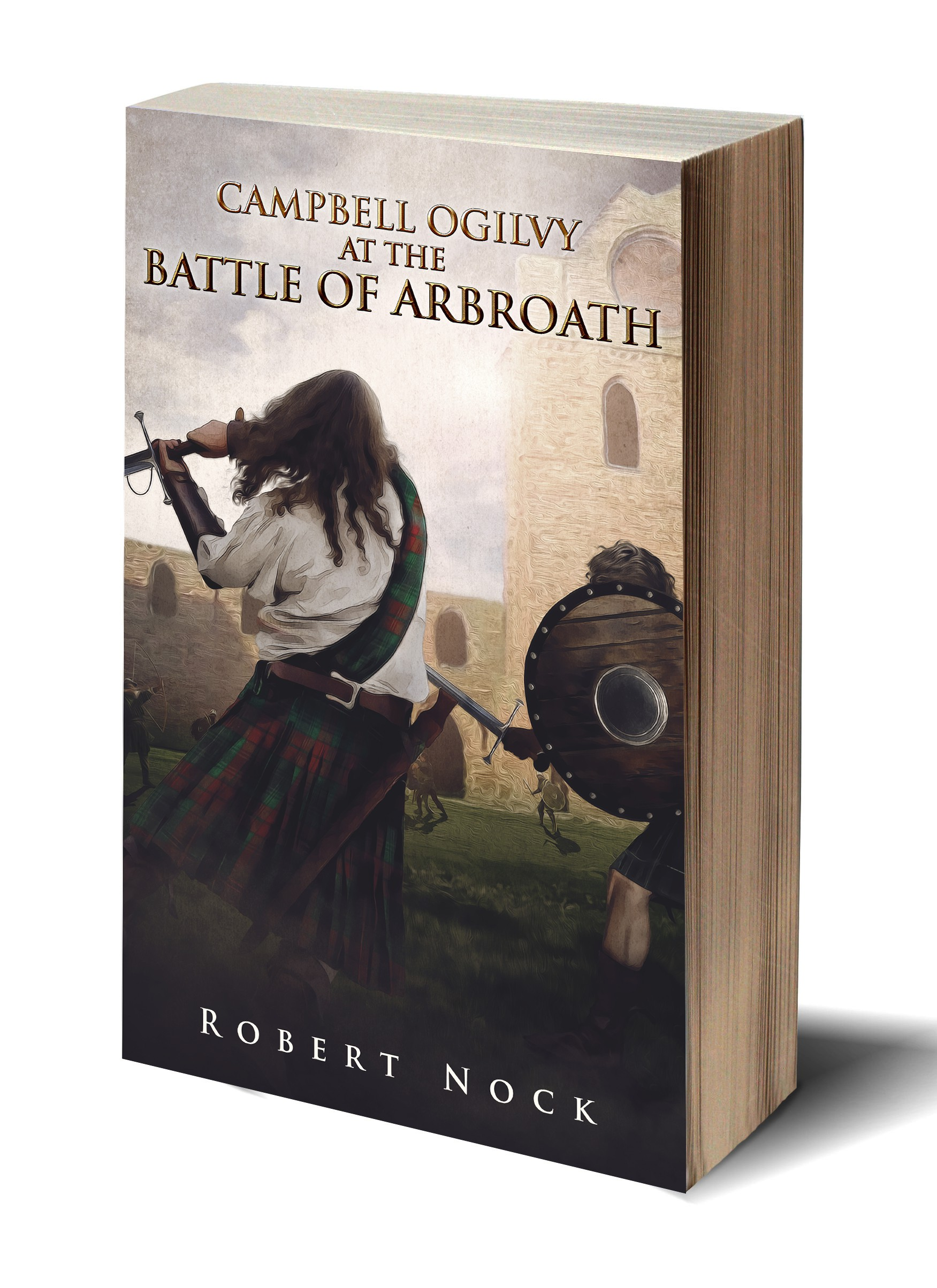 BOOK COVER! Battle of Arbroath