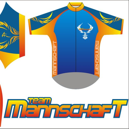Team Mannschaft needs a bicycle jersey design!