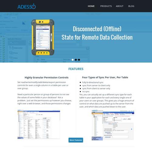 Adesso Website Redesign