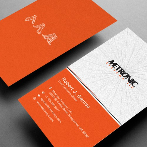 Metronic Systems LLC needs a new stationery