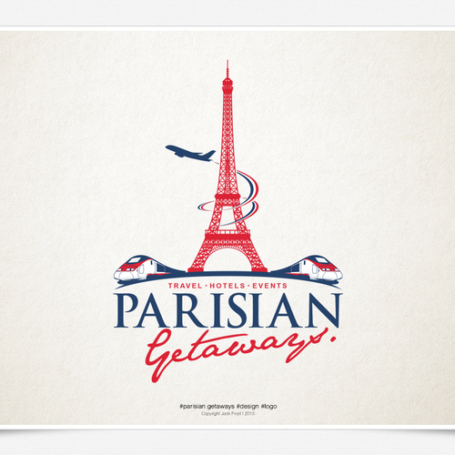 We need a cool design & you can tell your grandkids that you designed the 'Parisian Getaways' logo.