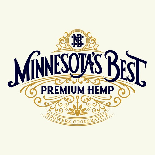 Vintage logo for Premium Hemp Growers Cooperative