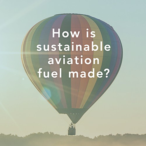 Infographic – Sustainable Aviation Fuel.