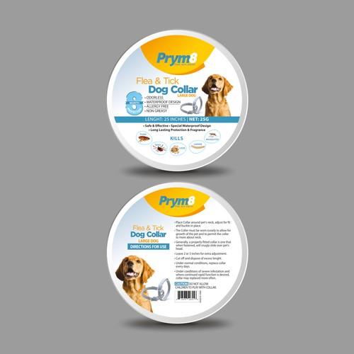Dog collar packaging