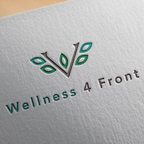 Logo concept for Wellness 4 Front