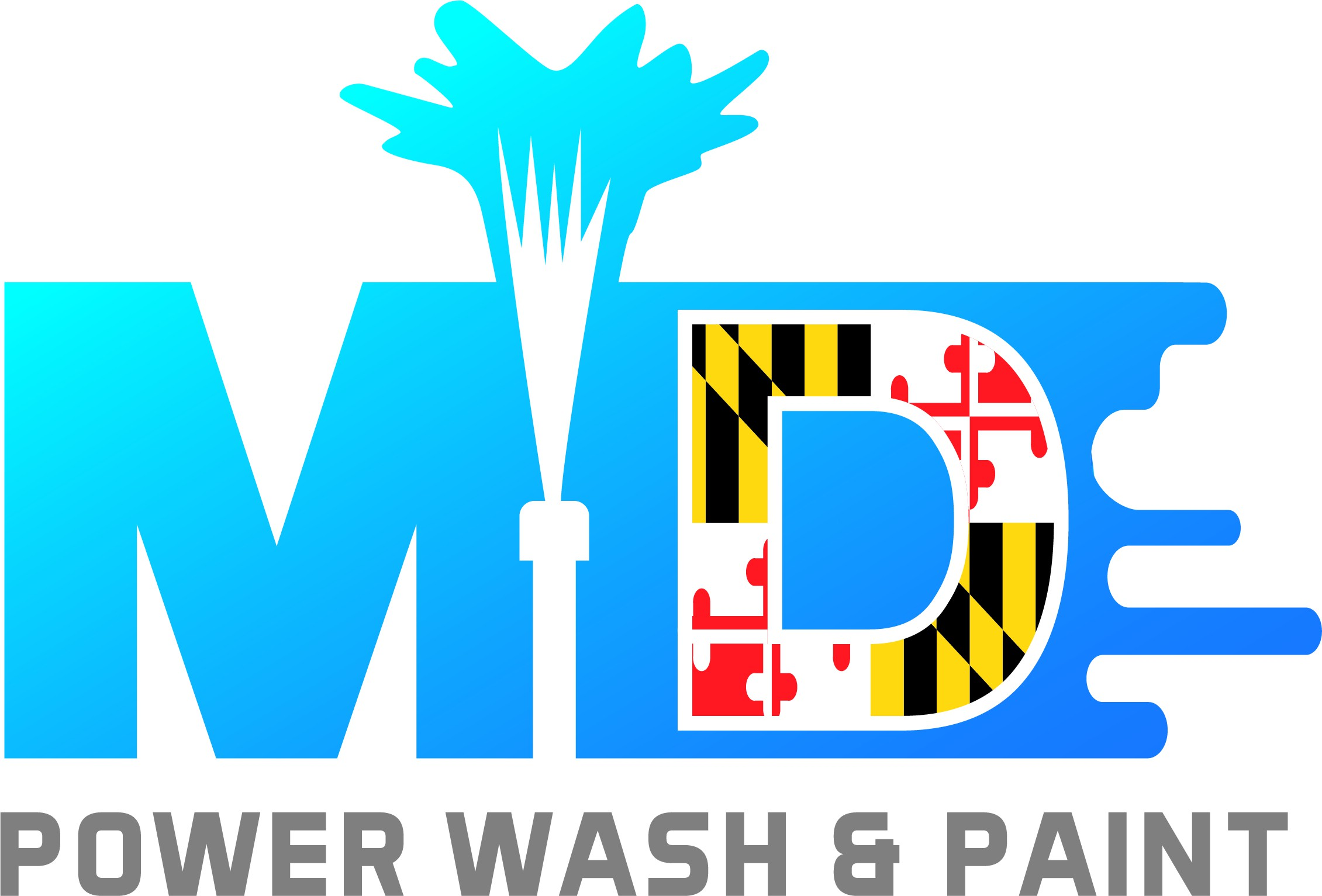 Design a winning logo for a power washing and painting company