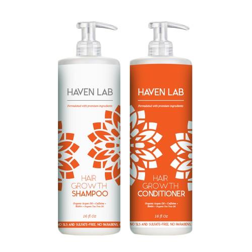Haven Lab - Label design