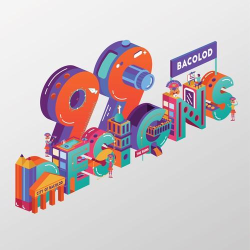 99 Designs Bacolod illustration
