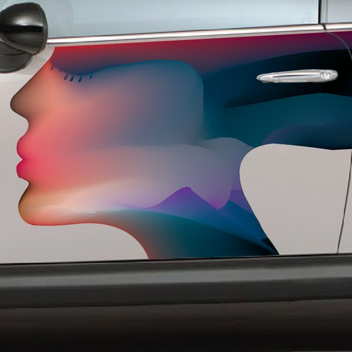 Create unique and stylish graphics for a car