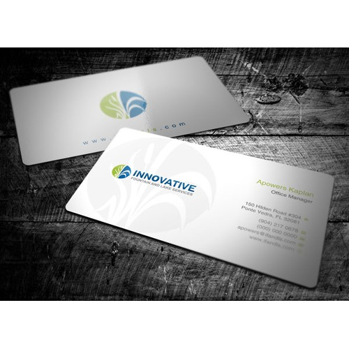 Help Innovative Fountain and Lake Services with a new stationery