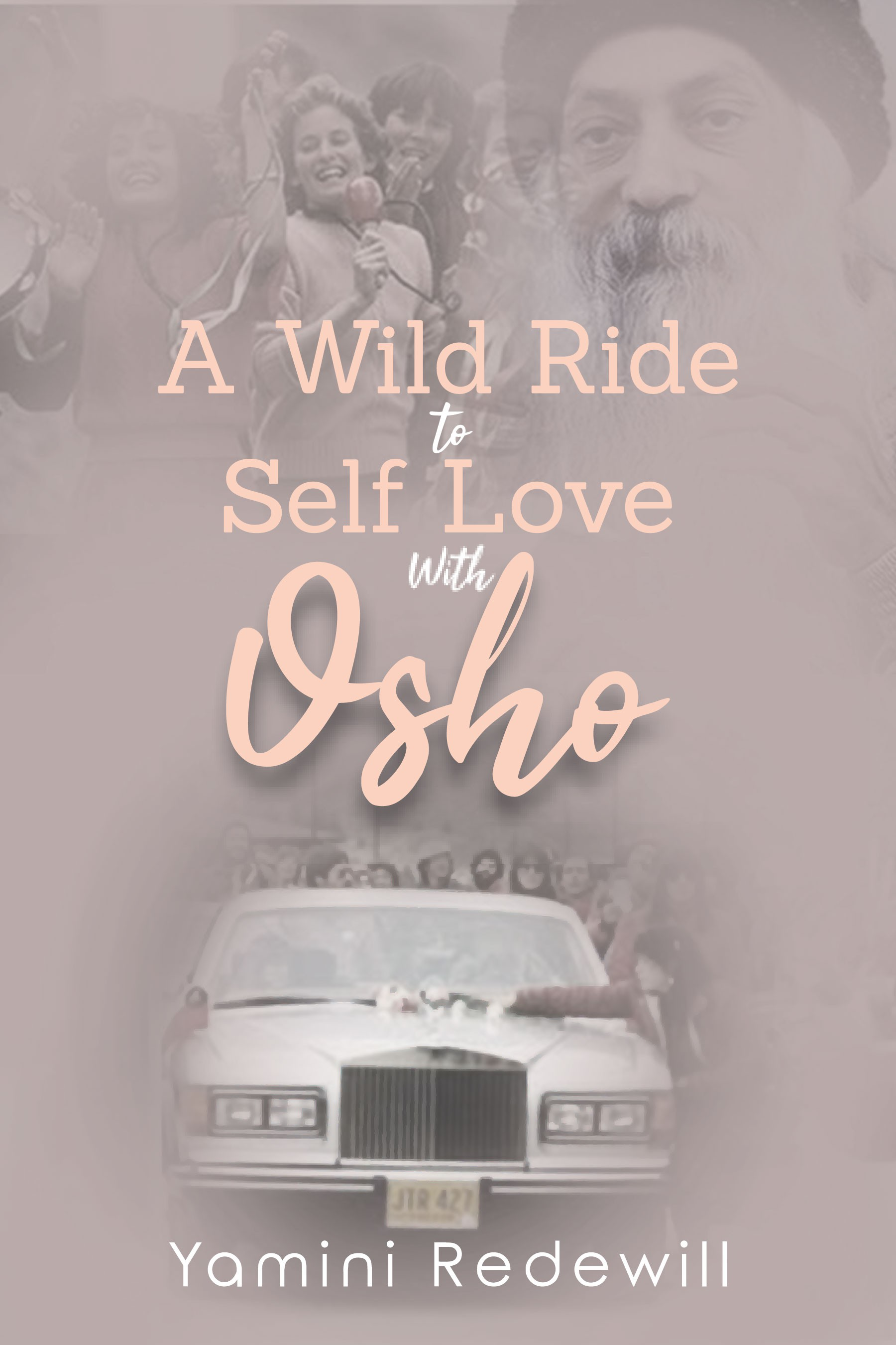 """Design a bookcover for """"A Wild Ride to Self Love with Osho"""""""