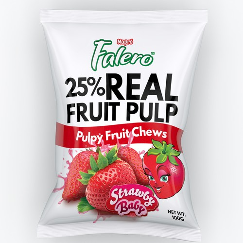 Fruity Chews Packaging design
