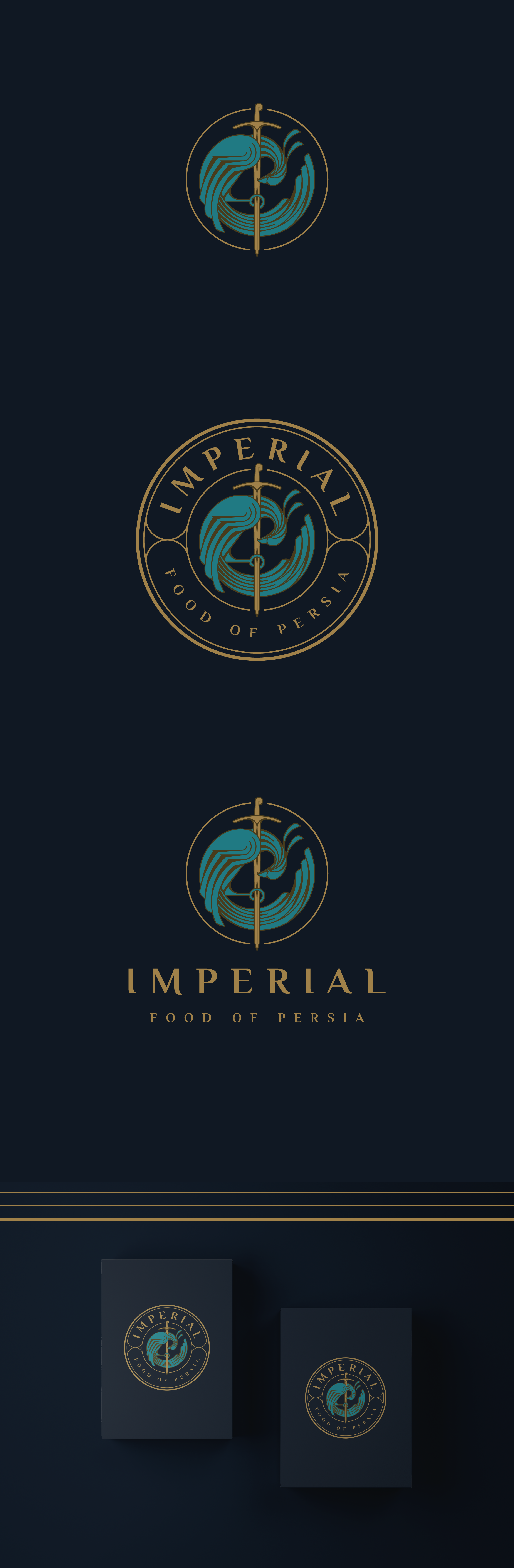 Logo design for a food compony or revision of a logo.