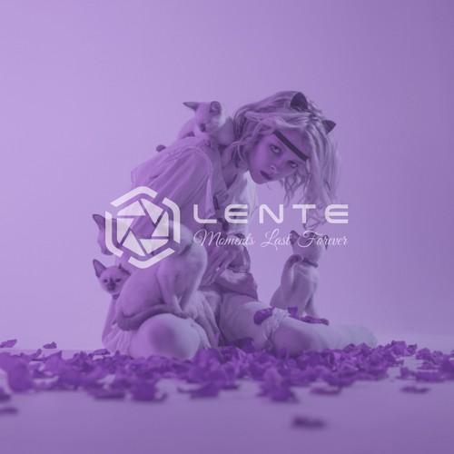 Logo & Jimdo Website for LENTE PHOTOGRAPHY