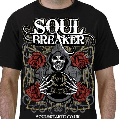 MMA Fight wear T-Shirt for Soul Breaker