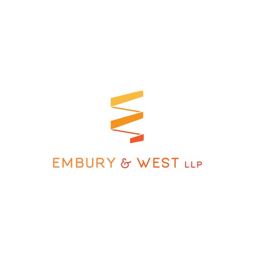 Logo design concept for law office