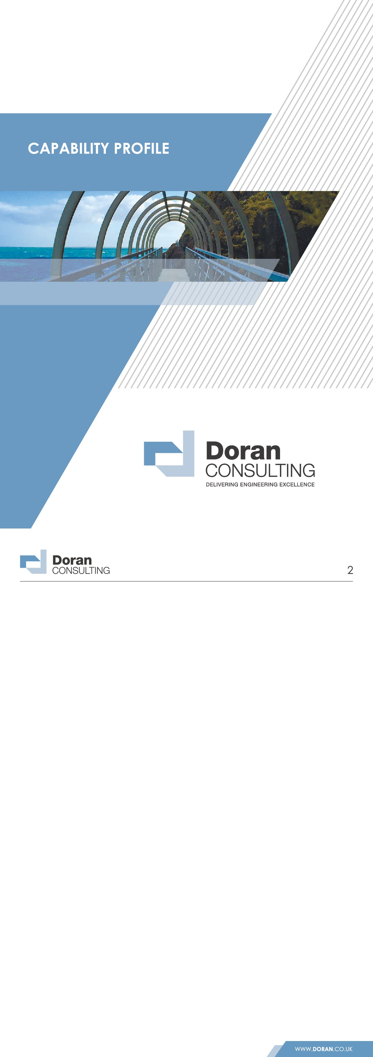 Company profile report cover for Engineering Consultancy