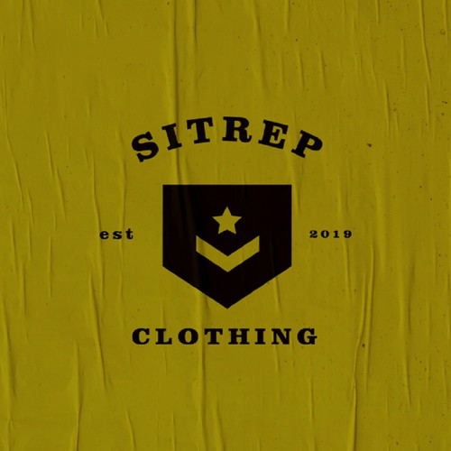 Logo for military clothing