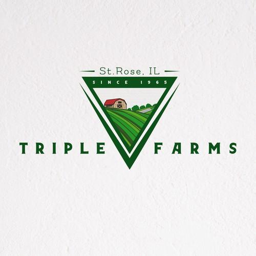 Triple V Farms Logo