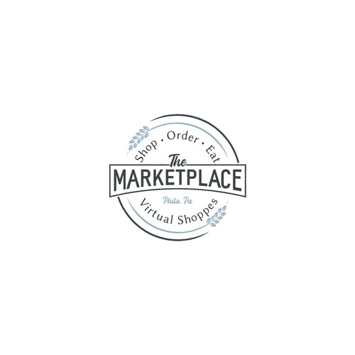 Logo for a group of online shops