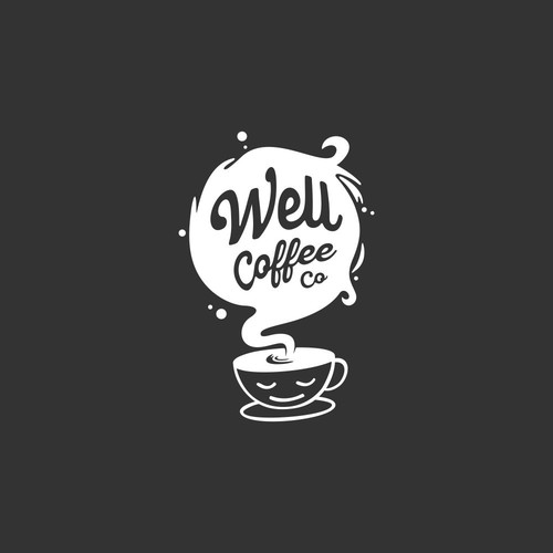 Unique Logo Concept for Well Coffee Co.