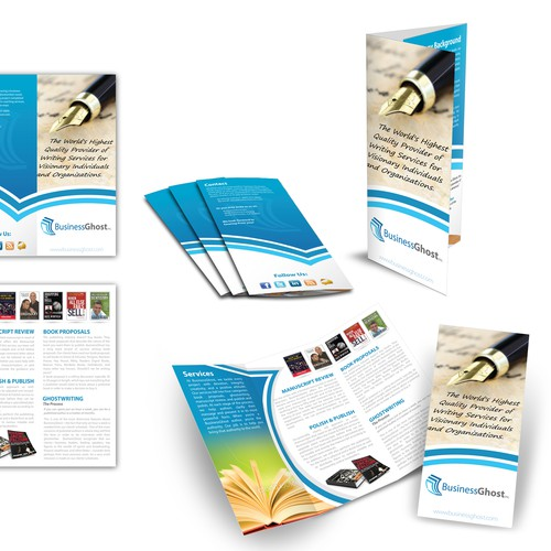 New brochure design wanted for BusinessGhost, Inc.