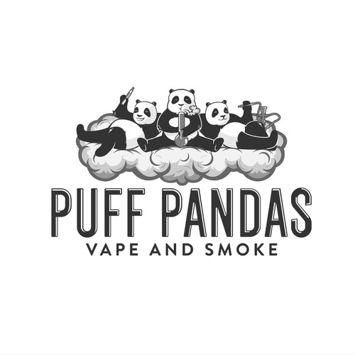Logo for a vape and bong retailer.