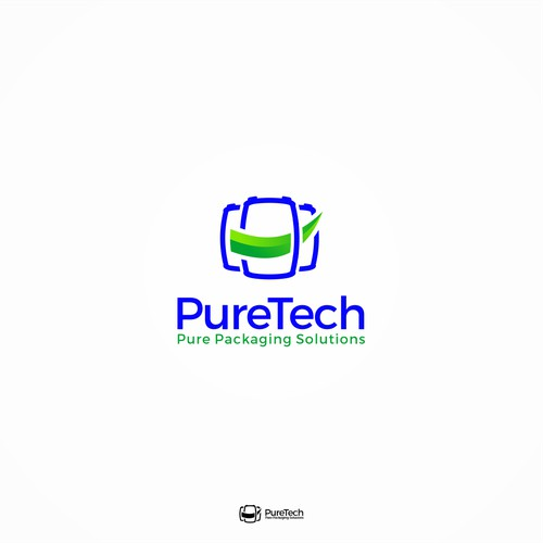 Pure Packaging Solutions Logo Design