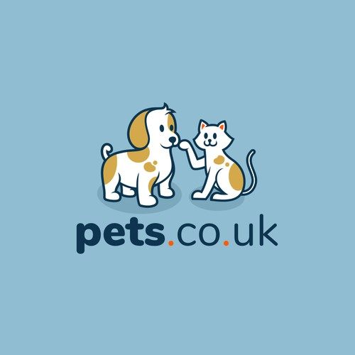 Concept logo for pets.co.uk