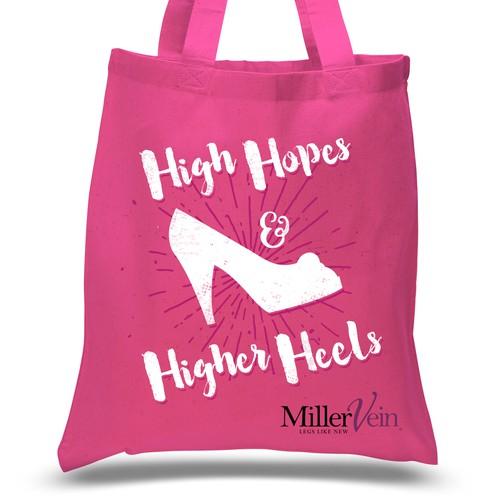 Women's Happy Healthy Tote Bag