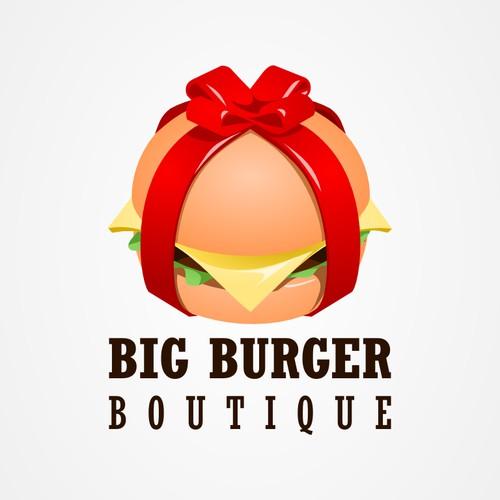 logo for Big Burger Boutique