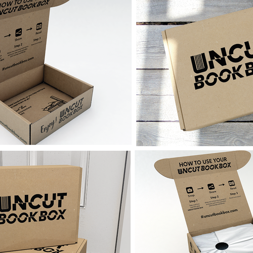 Packaging for a subscription book box