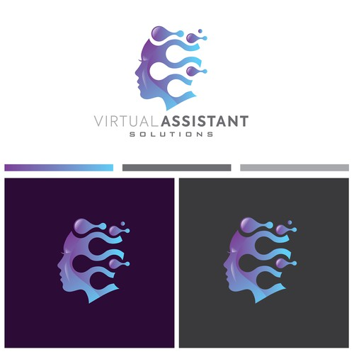 Virtual Assistant Company Logo that will appeal to high-end businesses
