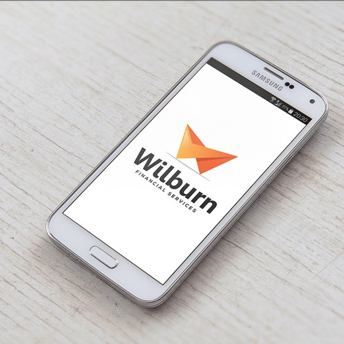 Strong logo concept for Wilburn